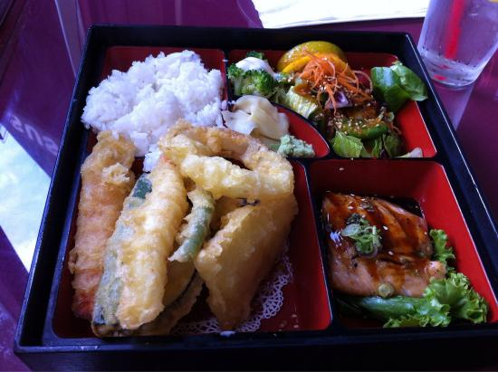 lunch specials bento box picture of crystal fish. Black Bedroom Furniture Sets. Home Design Ideas