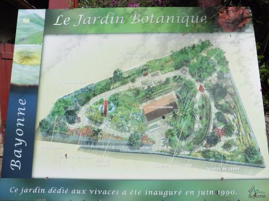 Plan du jardin foto di jardin botanique bayonne for Entretien jardin bayonne