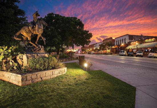 San Marcos, TX: Once the sun goes down the fun doesn't end in our Historic Downtown Square