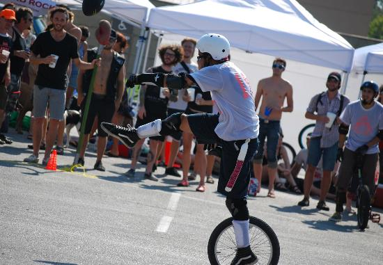 Looking for something truly unique in San Marcos. Catch a Unicycle Football Game downtown on Sun