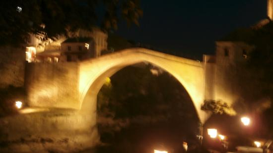 View from Restoran Babilon, Mostar, Bosnia