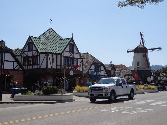 Solvang, CA: It does feel a little like Europe (not been to Denmark)! But big trucks remind you where you are