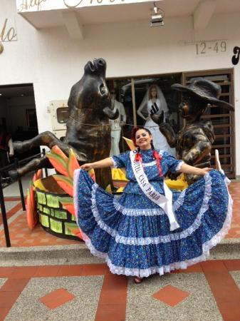Hotel Casa Pablo: muestra cultural