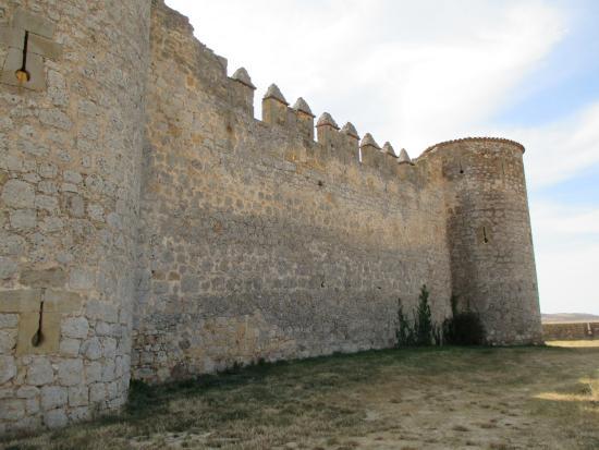 Castillo  en Almenar de Soria - binnenmuur