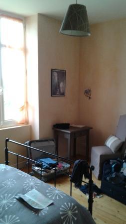 Domaine de Blaignac: vue de notre chambre brrr !brrr!