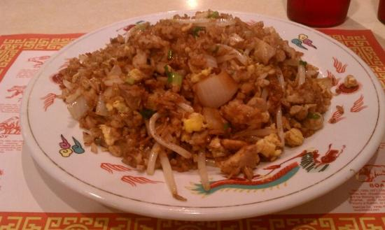 Dragon Cafe: Chicken Fried Rice!