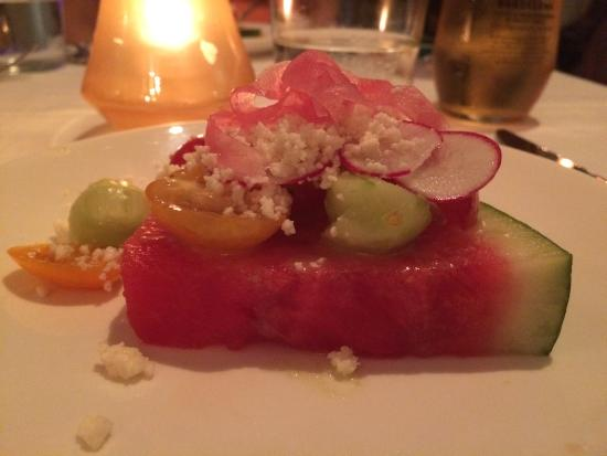 Cena by Michy: watermelon salad