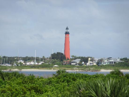 Smyrna Dunes Park View Of The Ponce De Leon Lighthouse From