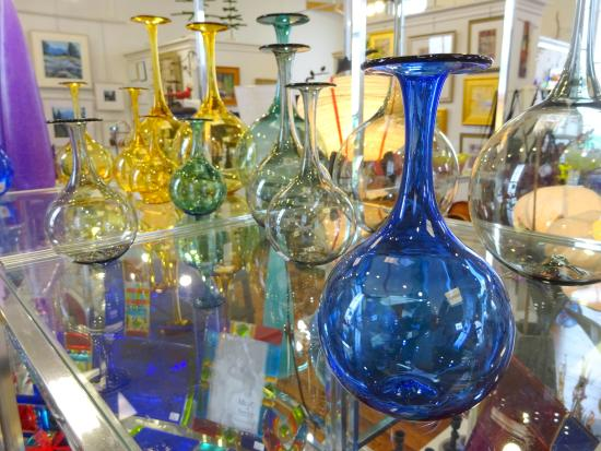 Boiling Springs, PA: Blown glass