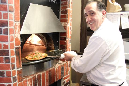 Boxcar Bar and Grill: Brick Oven Pizza