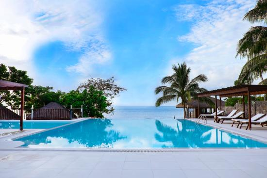 Infinity pool picture of palm beach resort laiya - Palm beach pool ...