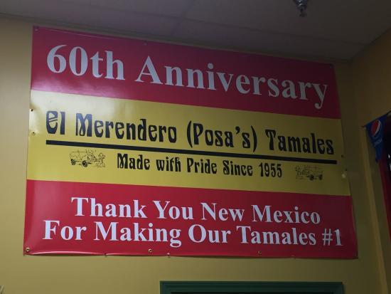 Posa's Tamale Factory and Restaurant: Gem just off Cerrillos Road!
