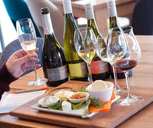 Puddleduck Vineyard: Our wine and cheese tasting