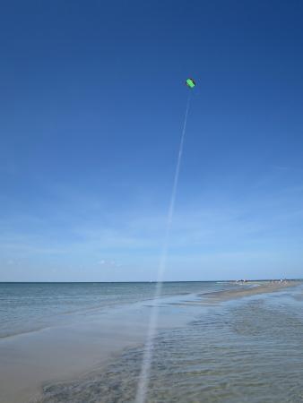 Wingaersheek Beach: Sandbar kiting