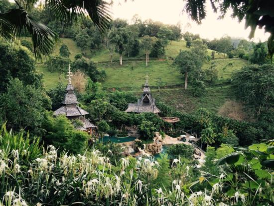 Panviman Chiang Mai Spa Resort: View from the hill