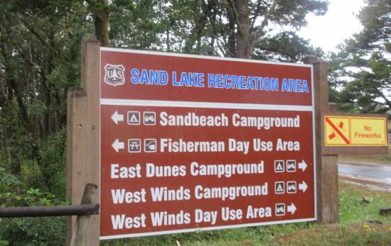 Sandlake Recreation Area, Cloverdale, Oregon Coast, OR