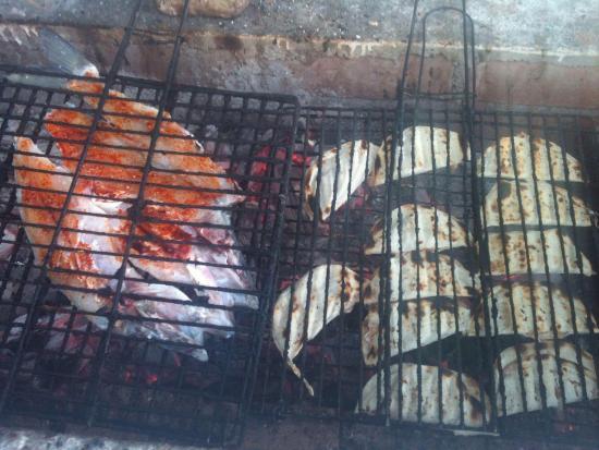 Restaurante lidia: el mejor pescado sarandeado de toda la region👌🏻👌🏻