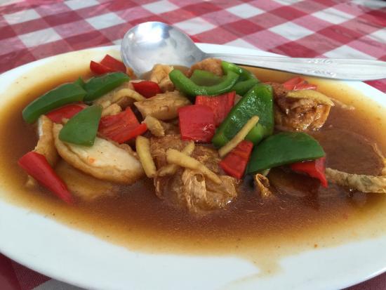 Happy Vegetarian Healthy Food: Seafood saos Tiram ala veggie