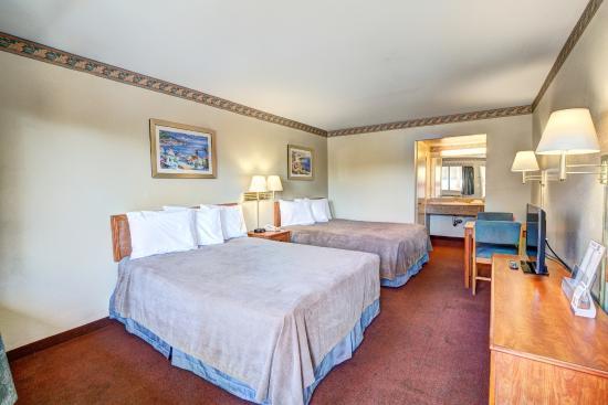 Redlands, Καλιφόρνια: Guestroom Two Queen beds
