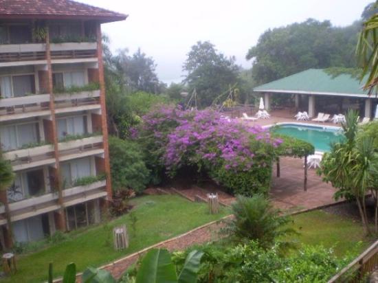 Raices Esturion Hotel: Vista desde el balcón de la habitación