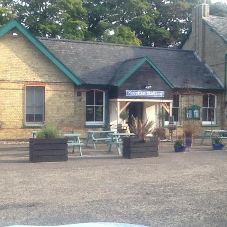 Reepham, UK: Kerry's Pine Restaurant in old Railway Station