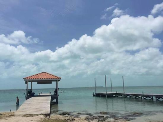 Ambergris Caye, Belize : Secret Beach