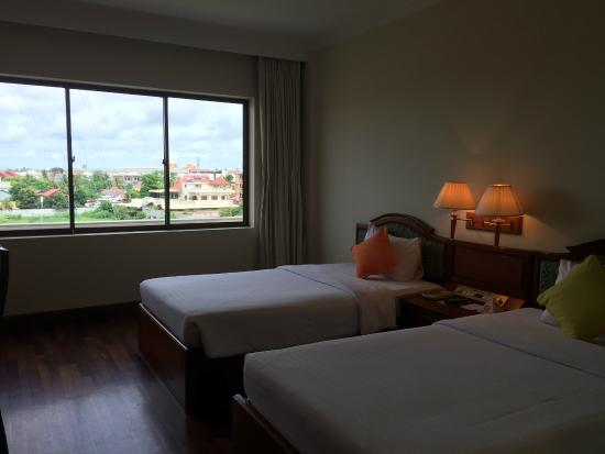 Khemara Angkor Hotel & Spa : 客室の様子です。