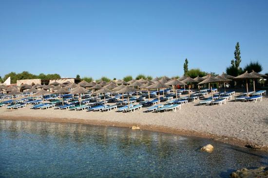 Eden roc resort hotel bungalows ab chf 54 c h f for Rhodos koskinou