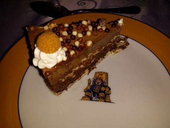 Villandraut, Frankrijk: Gâteau chocolat