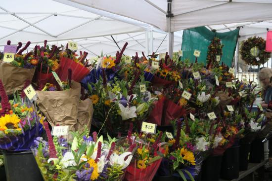 Eugene, OR: fresh flower vendors