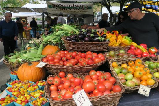 Eugene, Oregon: produce