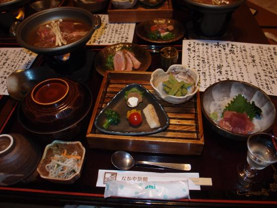 Nakaya Ryokan: おいしい料理