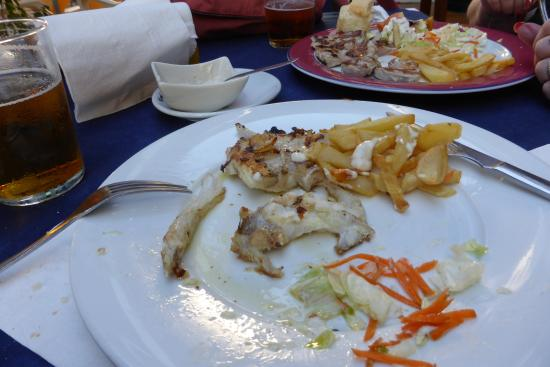 A fish dish from special menu picture of cafeteria for Fish dish menu
