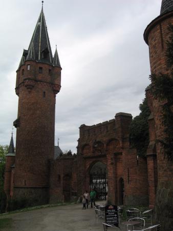 Hradec nad Moravici, Republika Czeska: Замок (вход на территорию)