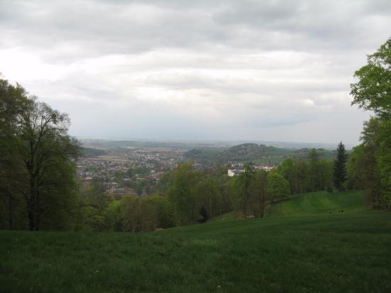 Hradec nad Moravici, Republika Czeska: Красивый вид на город