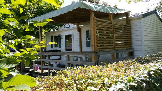 Camping d'Angers - Lac de Maine : Mobil'home