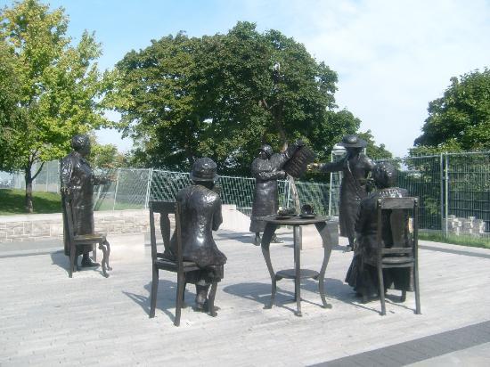 Famous Five Monument