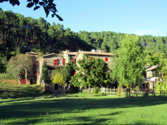 Saint-Paul-la-Coste, Frankrijk: Vue du domaine