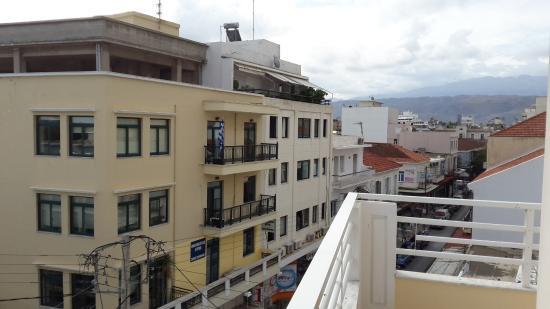 Archontiki Hotel: Balkon manzarası