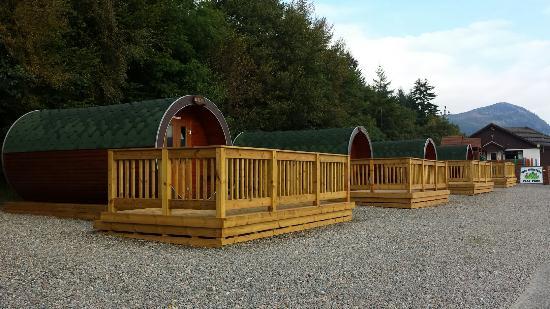 Invermoriston, UK: Loch Ness holiday park
