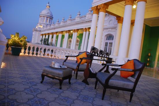 Lalitha Mahal Palace Hotel: Royal Terrace