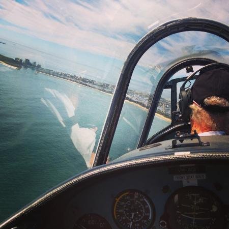 Caloundra, Australië: Inside the Yak 52