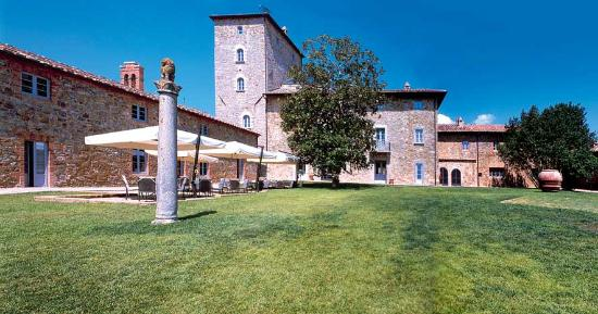 Borgo Scopeto Relais: Outside Hotel & Garden view