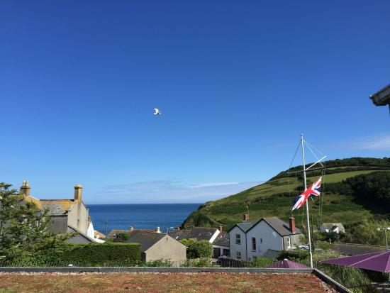 Gorran Haven, UK: view from the room