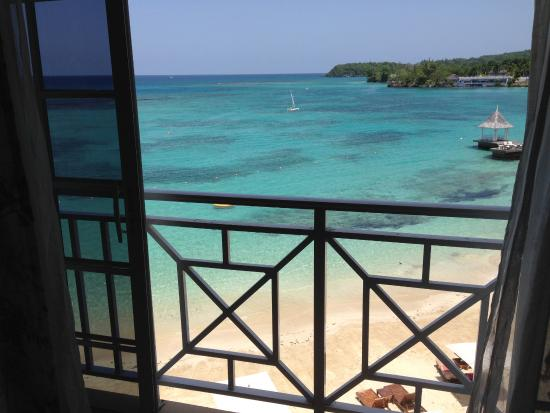 Sandals Royal Plantation: View through our room window
