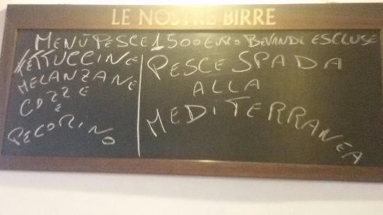 Adesso c'è anche il menù di pesce a 15 euro 👍