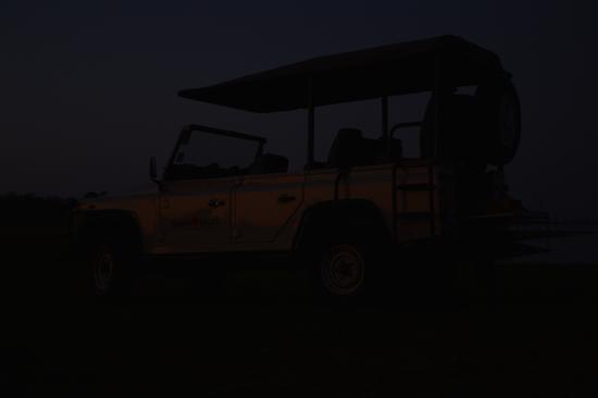 Bumi Hills Safari Lodge & Spa: Our safari vehicle