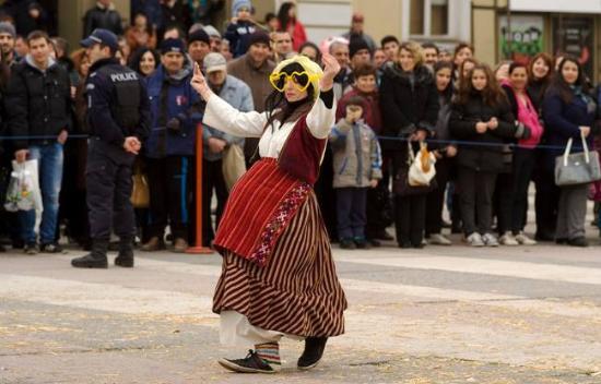 Yambol, บัลแกเรีย: Kukerlandia Masquerade festival