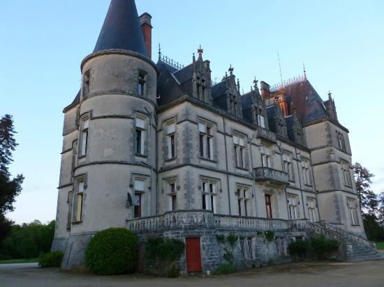 Buzancais, Francia: Château de Boisrenault vue extérieure