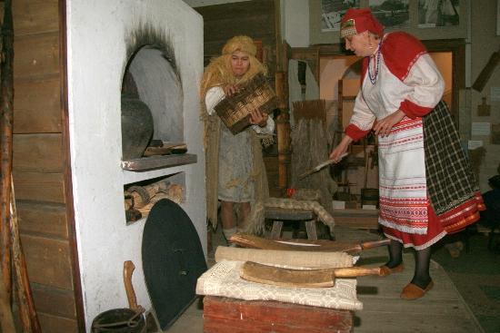 Museum Preserve Smolensk Flax
